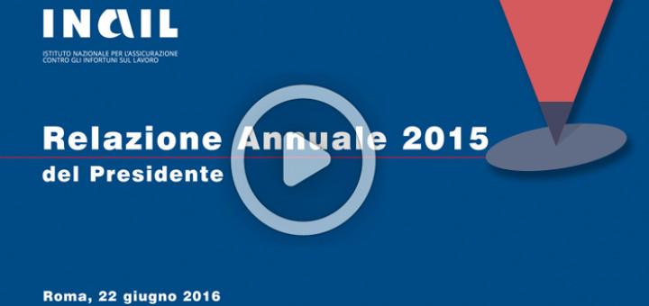 della relazione annuale 2015