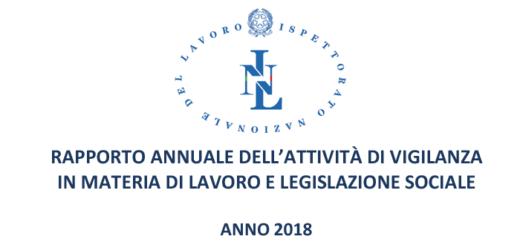 rapporto annuale inl 2018