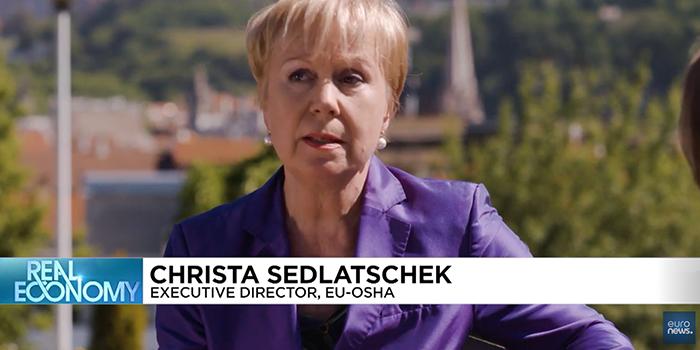 direttore esecutivo dell EU-OSHA parla dei tumori professionali
