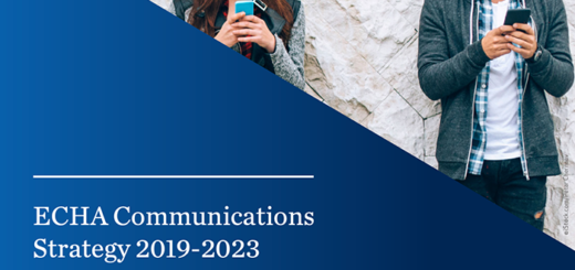 echa communications strategy 2019-2023
