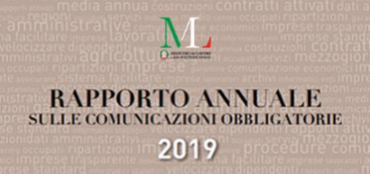 rapporto annuale comunicazioni obbligatorie 2019
