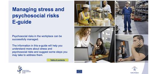 guida elettronica Eu-Osha stress rischi psicosociali