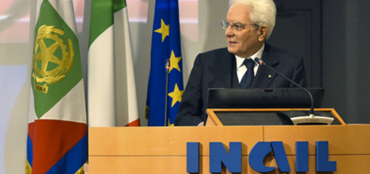 mattarella all inail