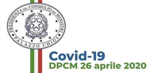Covid-19 DPCM 20 aprile 2020