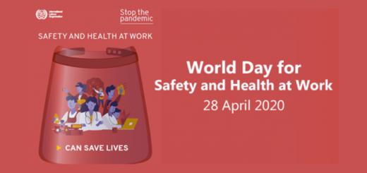 Giornata mondiale della sicurezza e salute sul lavoro 2020