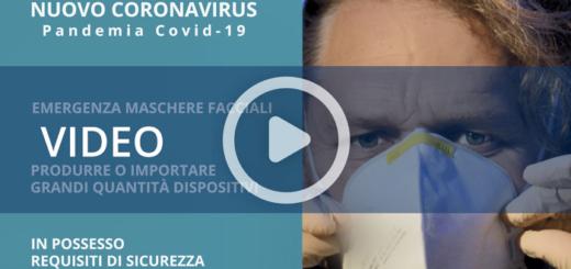 coronavirus online il video inail sulle maschere facciali