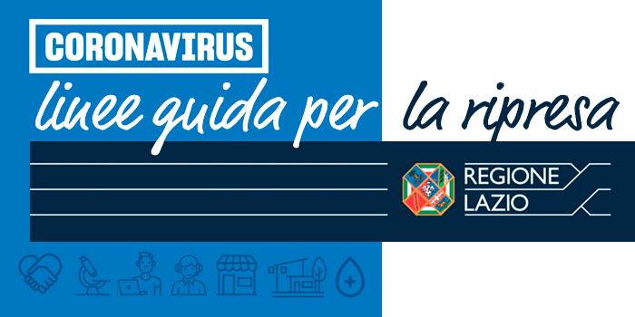 Regione Lazio Linee Guida per la ripresa
