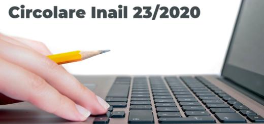 circolare inail 23 2020