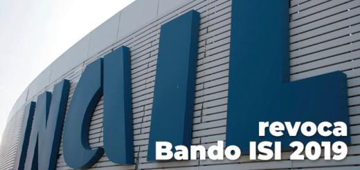 revoca Bando ISI 2019
