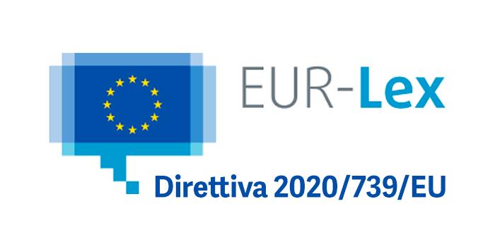 Direttiva 2020 739 EU