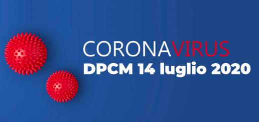 DPCM 14 luglio 2020
