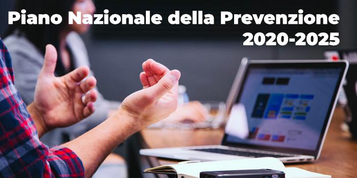 Il Piano Nazionale Della Prevenzione 2020 2025 Repertoriosalute