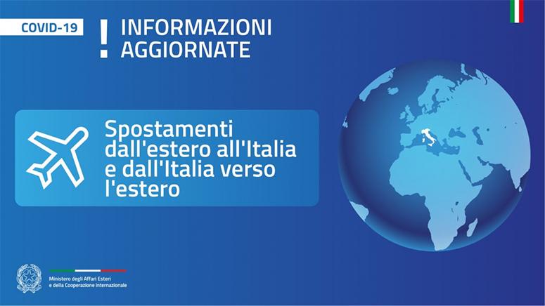 Covid 19 Ordinanza Del Ministero Della Salute Sugli Ingressi E Transiti In Italia Repertoriosalute